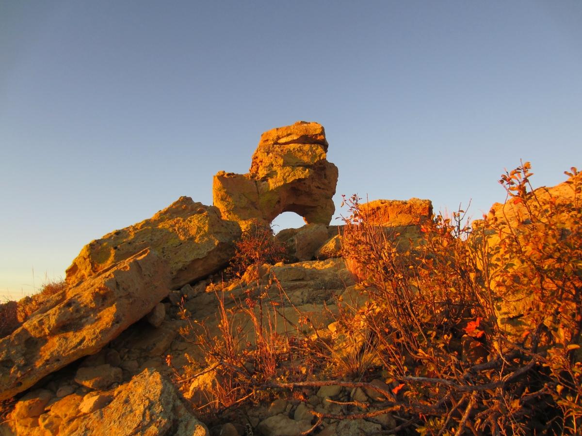 The rocks of Eastern Colorado