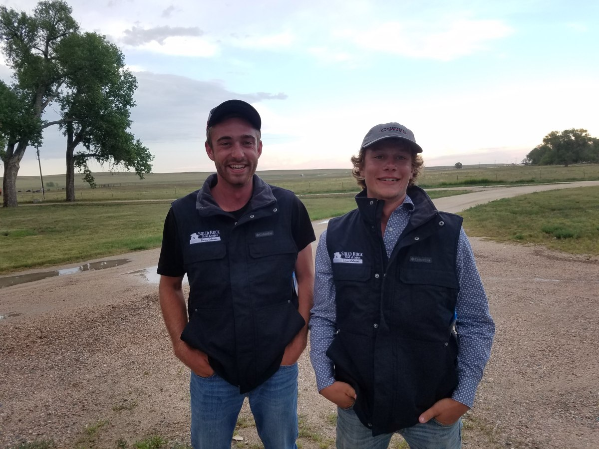 Solid Rock Red Angus Hosts Two Summer 2018 Interns